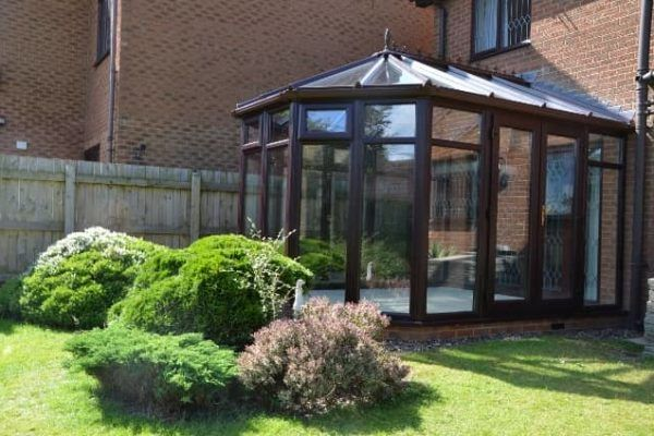 Victorian, Full Height Glass, Rosewood