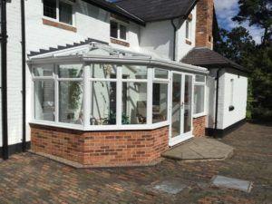 DIY conservatory steel base Hampton Cottage