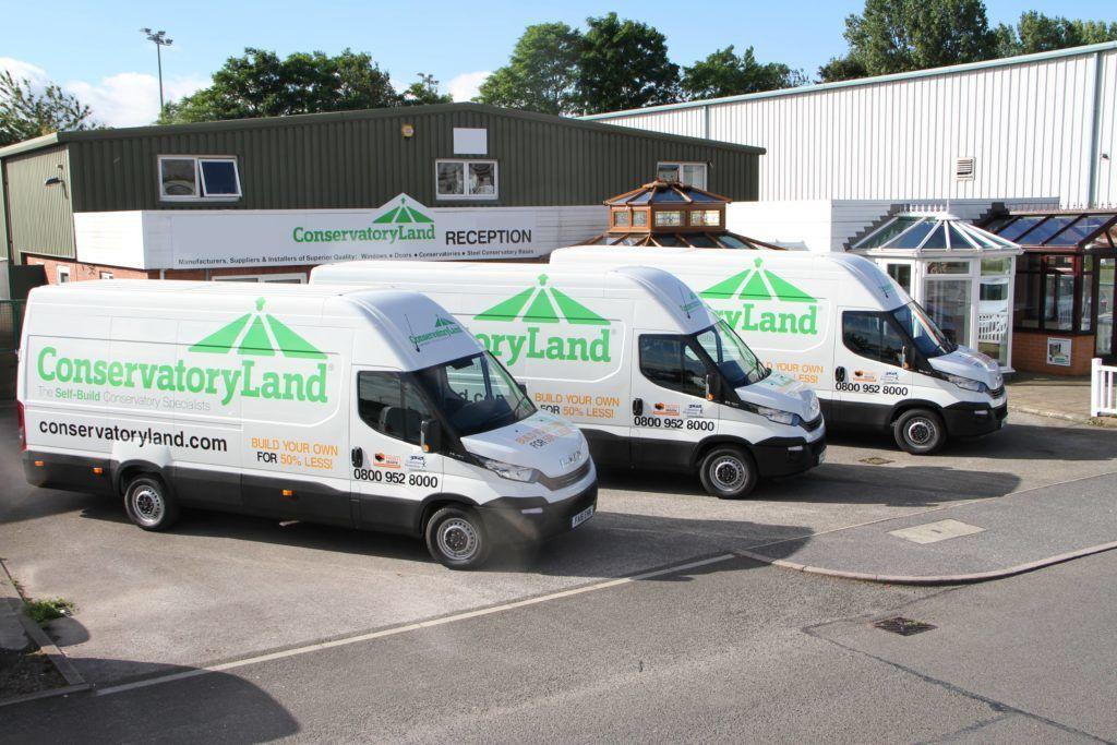 conservatory land delivery vans