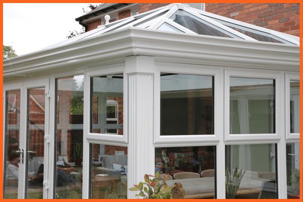 conservatory frame glazing