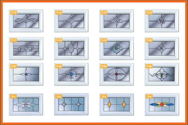 conservatory decorative glass