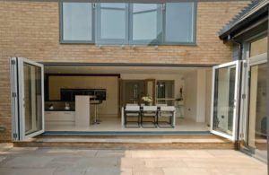 Bi-fold conservatory doors