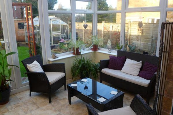 Staffordshire March Customer of the Month - Conservatory Land - diy conservatory in use