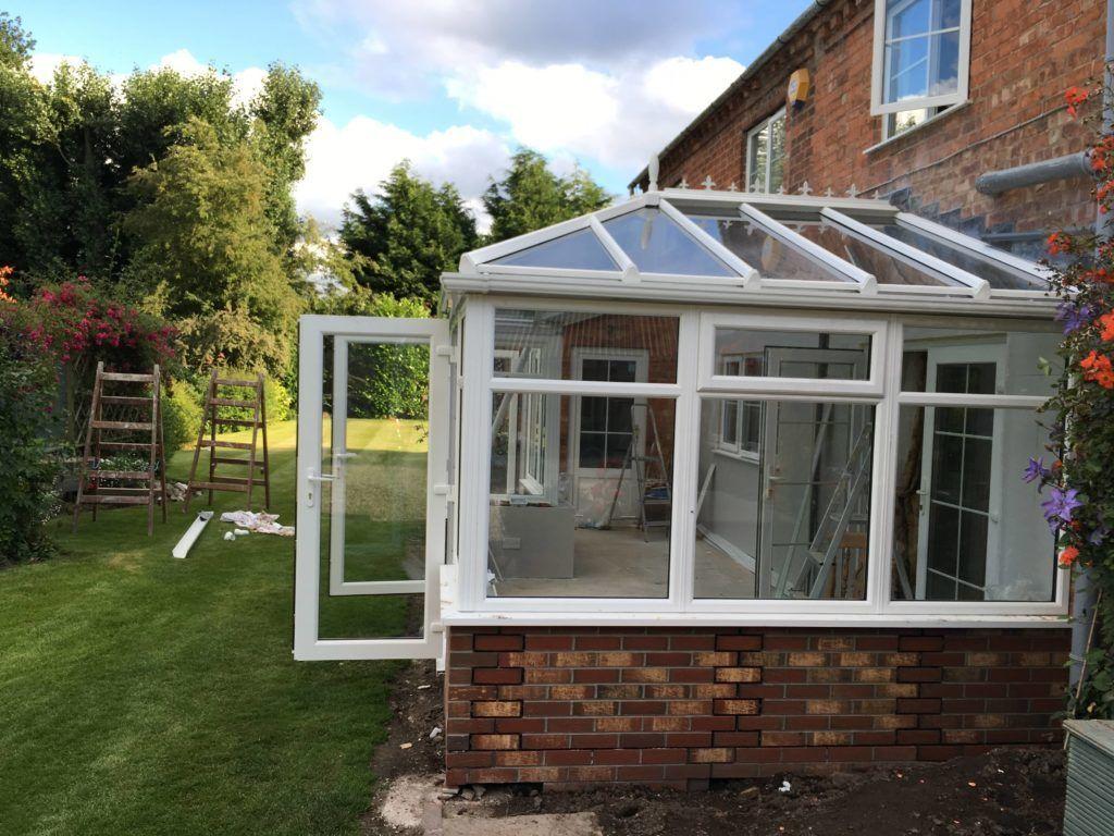 Assembled conservatory