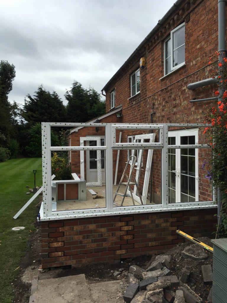 Conservatory frame