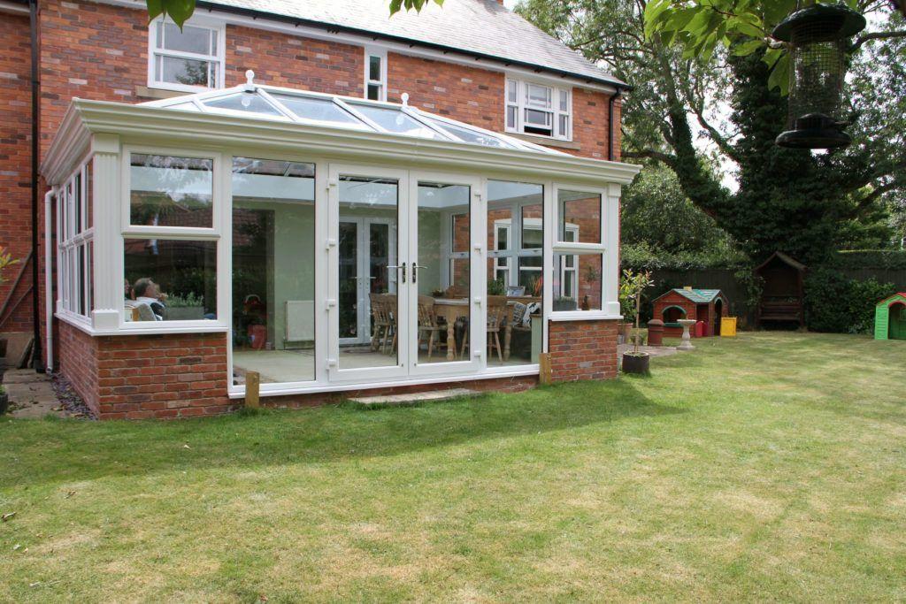 DIY Edwardian style Orangery extension