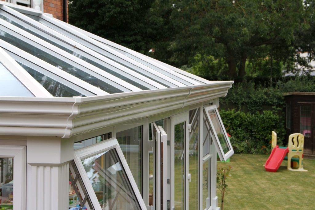 DIY Orangery Glass Roof