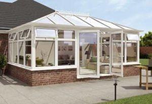 Hipped Back Edwardian conservatory