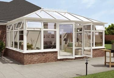 Hipped Back Edwardian conservatory