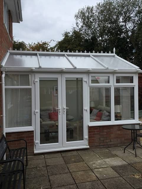 Gable End Conservatory front view - Gwilliam