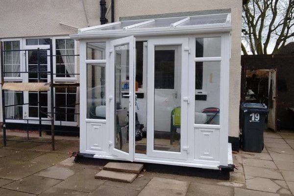DIY Lean-to conservatory sunlounge After - Mr Scott