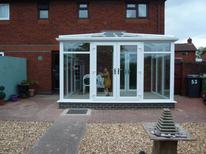 DIY Hipped Lean-to Conservatory - Mr Jeff May
