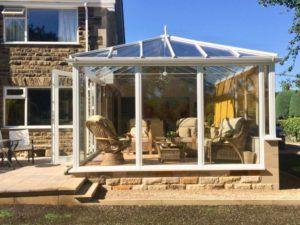 Edwardian Conservatory External View - Gerry Johnson