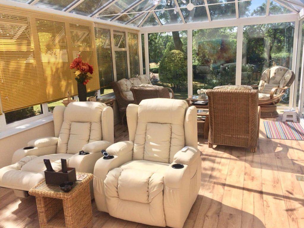 Edwardian Conservatory Wicker Furniture Johnson