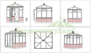 Edwardian Conservatory CAD Design