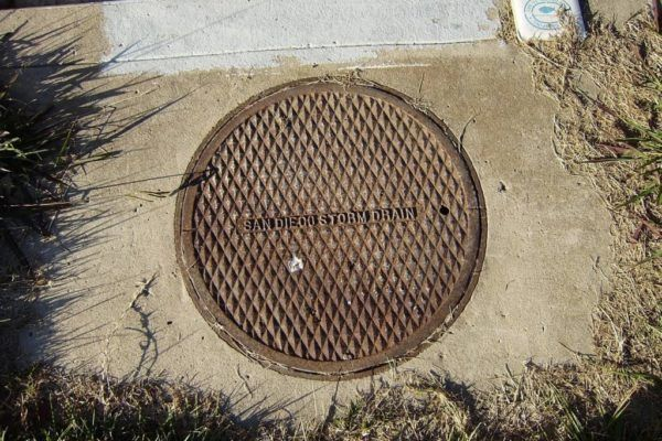 Image of a drain