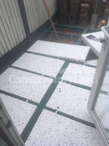 Edwardian Conservatory Floor Preperation