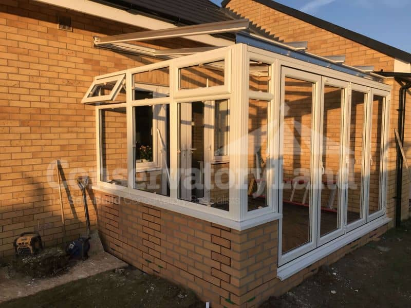 Mr Jones - two-sided lean-to conservatory