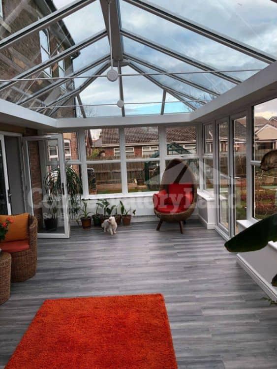 Mr Jobling DIY Orangery - interior 2