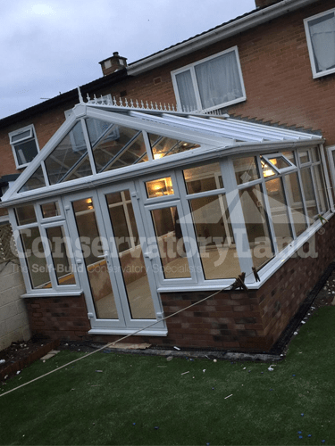 Large Gable Front Conservatory