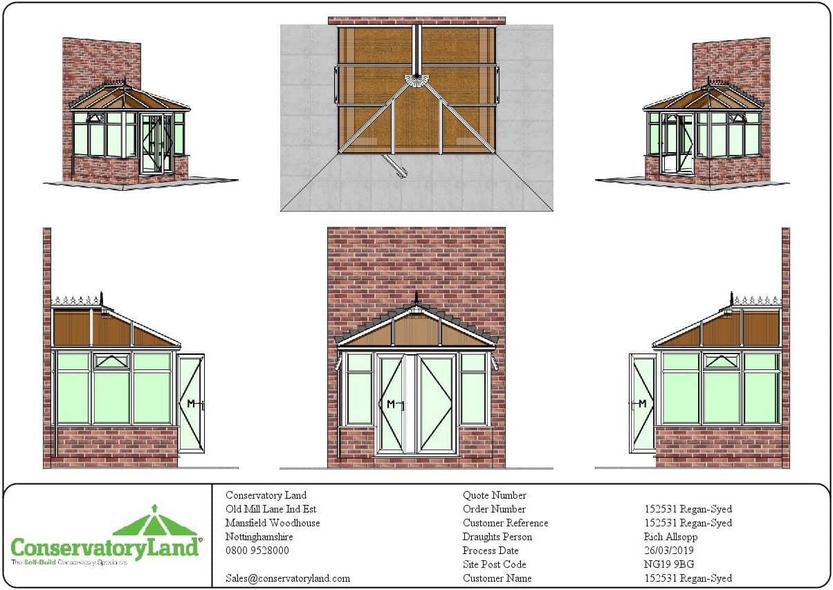 Edwardian Conservatory Plans
