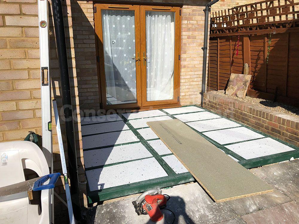 conservatory base build
