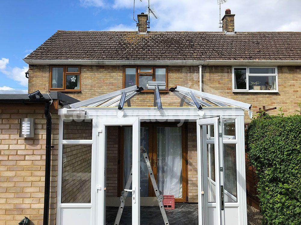 Edwardian conservatory build