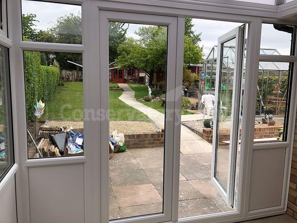 diy conservatory door