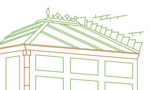 conservatory box gutter