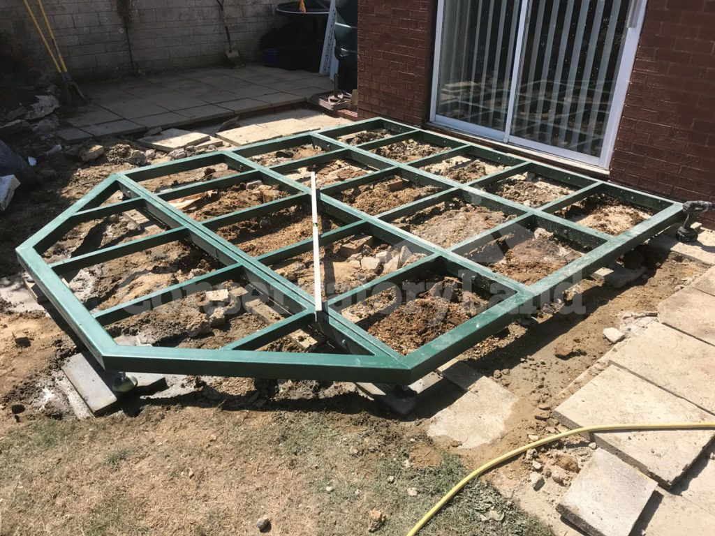 conservabase steel based conservatory