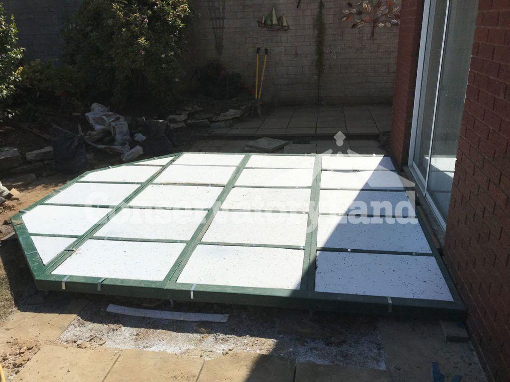 conservatory base construction