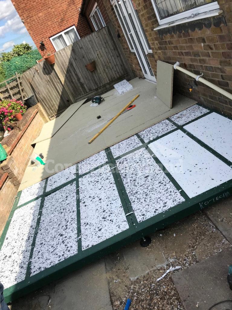 building a conservatory base