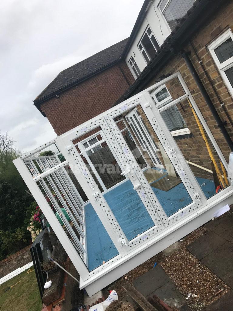 conservatory frame white