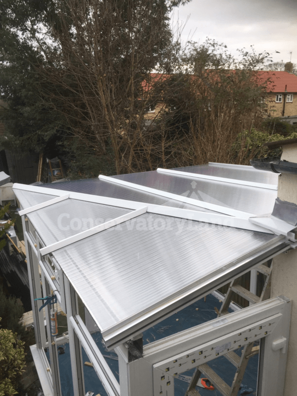 lean to roof polycarbonate panels