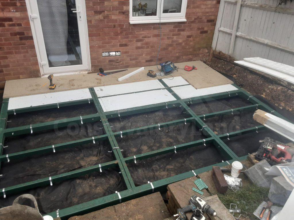 conservabase steel foundations