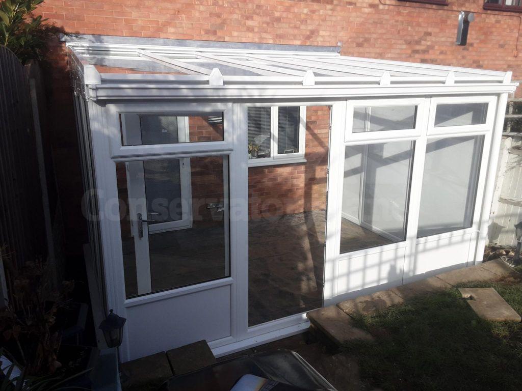 conservatory upvc frame