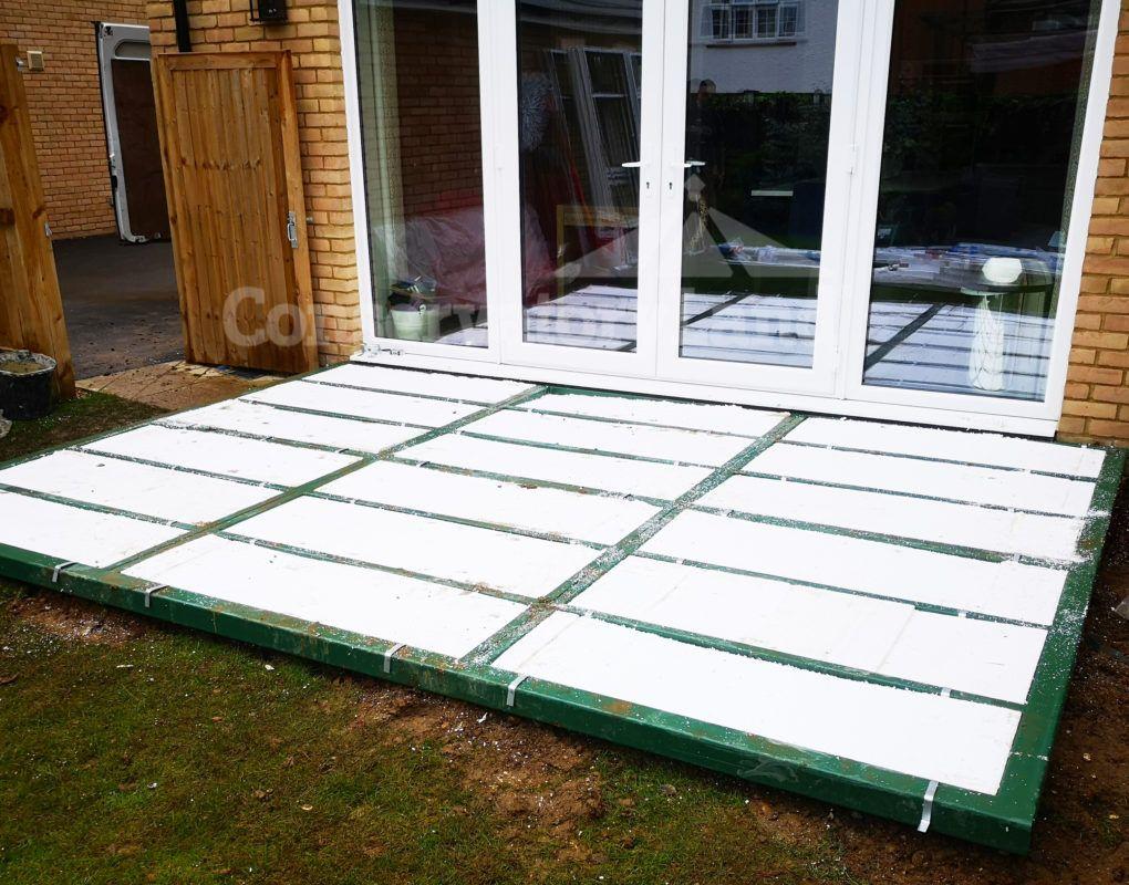conservatory installation process
