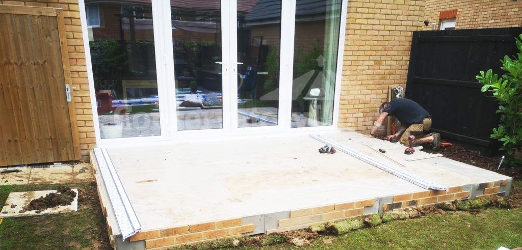 foundation conservatory installation