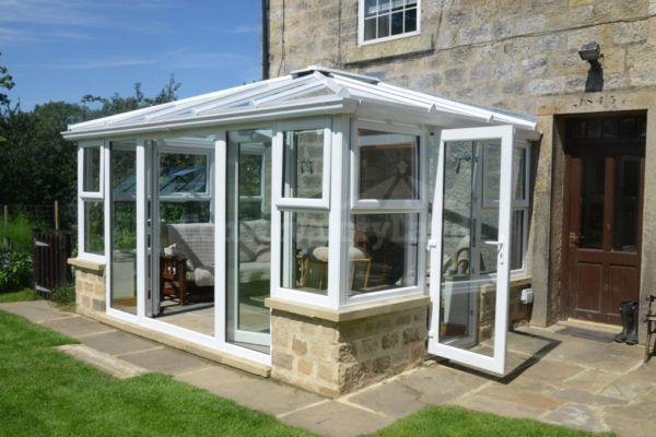 white edwardian conservatory