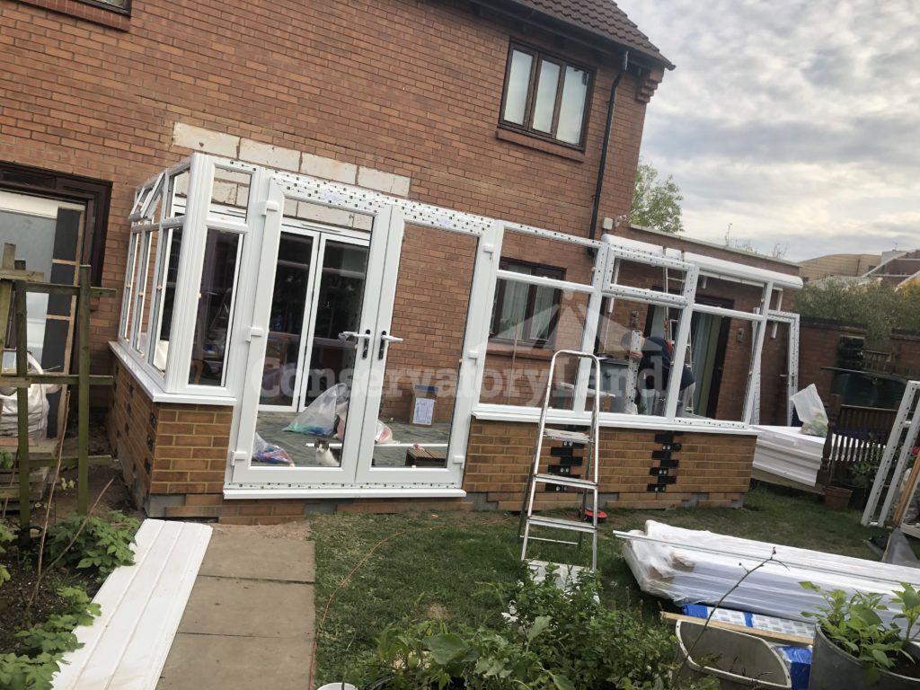 conservatory frame assembly
