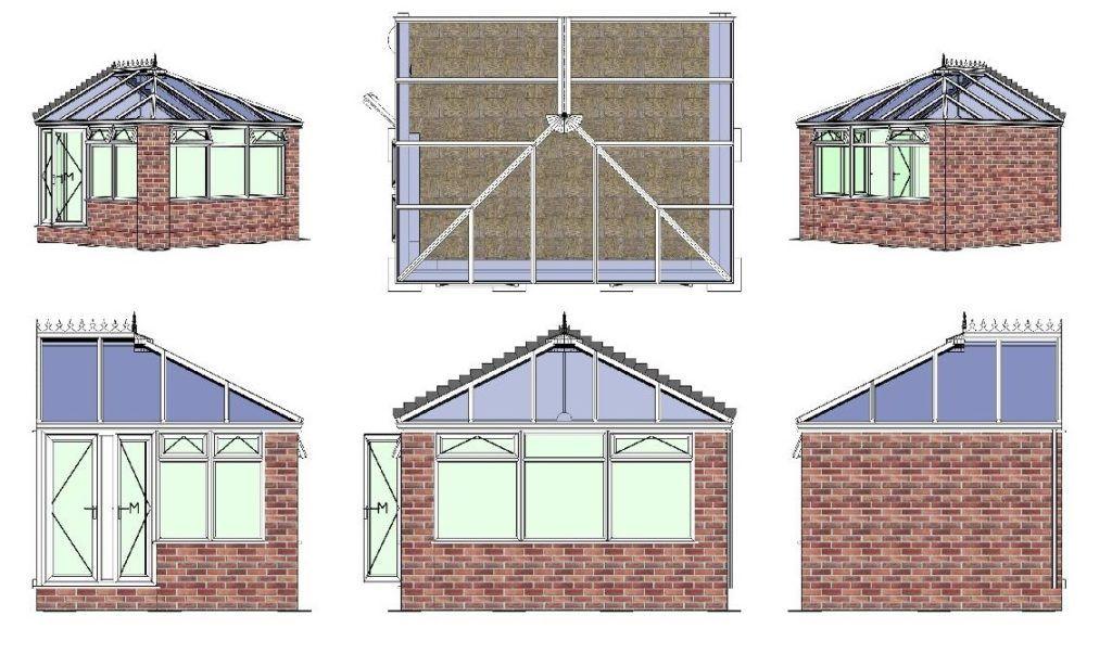 Edwardian CAD Drawing